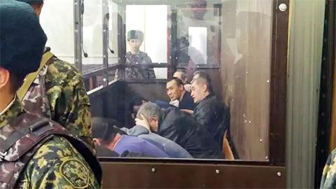 ОПГ Тохтара Тулешова в суде