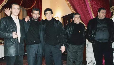 В центре: вор в законе Андраник Согоян (Зап Ленинаканский), 17.12.2003, Сочи