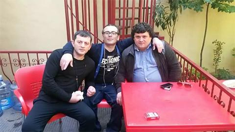Слева воры в законе: Гоча Джинчарадзе (Курша), Леван Деканадзе (Бачия) и Миндия Горадзе (Лавасоглы)