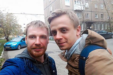 Егор Бычков и Владислав Пушкарев