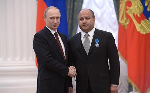 Владимир Путин и Георгий Беджамов