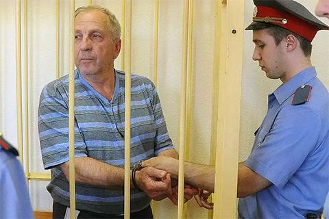 Виктор Щекотов в суде