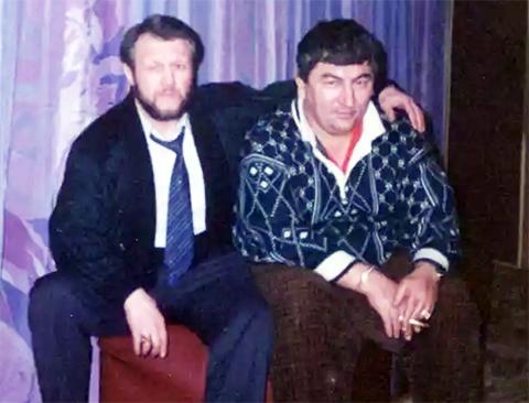 Слева воры в законе: Вячеслав Иваньков (Япончик) и Датико Цихелашвили (Дато Ташкентский)