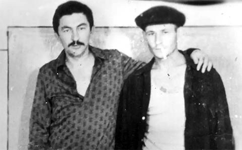Слева воры в законе: Датико Цихелашвили (Дато Ташкентский) и Меред Анакурбанов