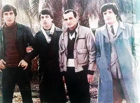 Слева воры в законе: Мераб Джангвеладзе, Отари Кварацхелия и Вахо Кардава
