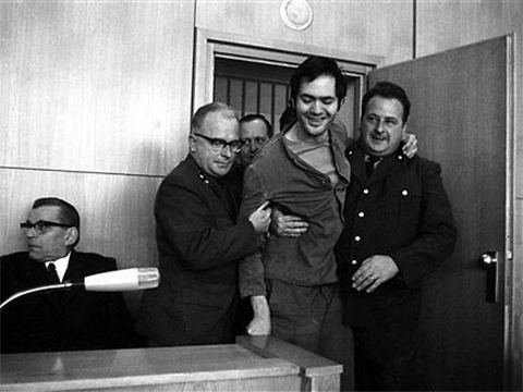 Андреас Баадер в суде