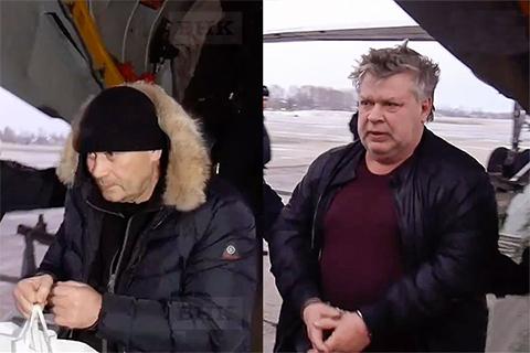 Бизнесмены Георгий Попов и Вячеслав Гузиев