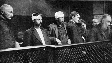 Участники ранних итальянских банд в США