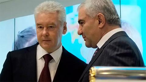 Сергей Собянин и Самвел Карапетян