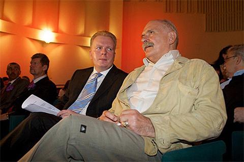 Сергей Федотов и Никита Михалков