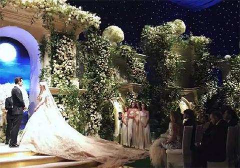 Свадебная церемония в Голливуде