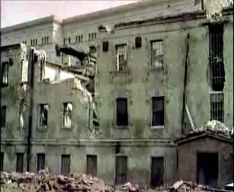 Снос Таганской тюрьмы