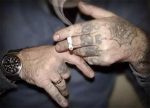 Наколки на пальцах