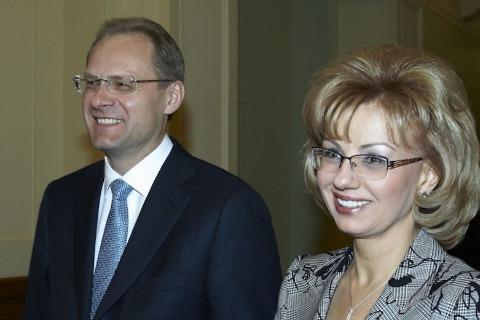 Василий Юрченко с супругой
