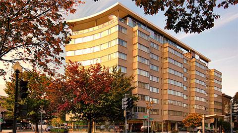 Отель Dupont Circle, в котором было найдено тело Михаила Лесина