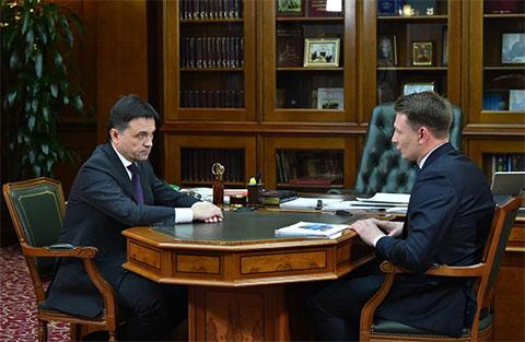 Слева: Андрей Воробьев и Александр Двойных