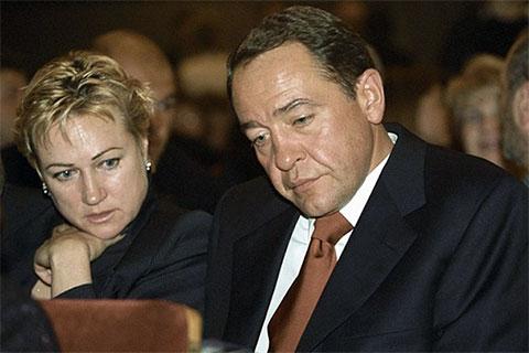 Михаил Лесин с женой Валентиной