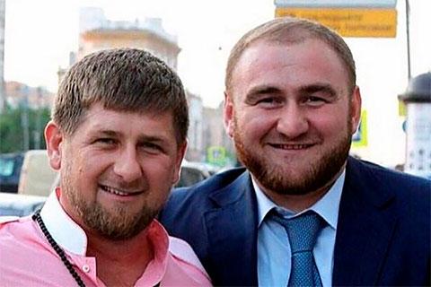 Слева: Рамзан Кадыров и Рауф Арашуков