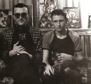 Слева воры в законе: Георгий Углава (Тахи), Сергей Коммуняев (Серега Коммуняй)