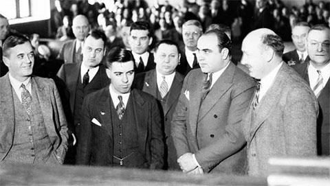 Аль Капоне в суде