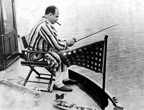 Аль Капоне на отдыхе