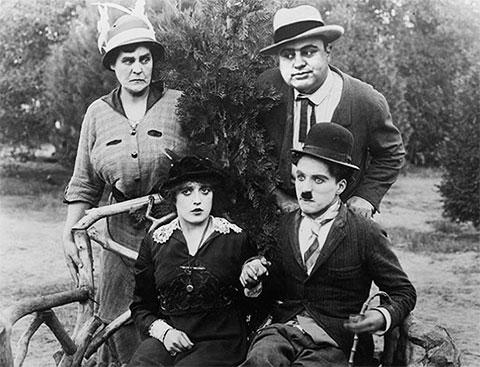 Чарли Чаплин и Аль Капоне
