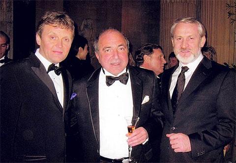 Слева: Александр Литвиненко и Борис Березовский