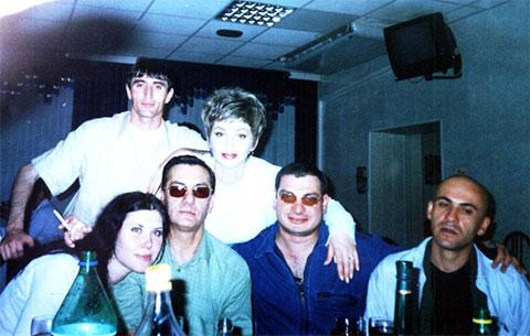 Слева в очках: Элгуджа Дигмелашвили, Тюмень