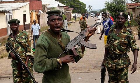Военные Бурунди