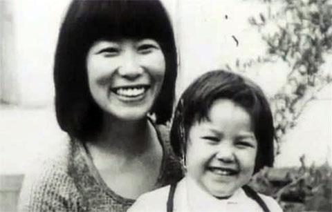 Фусако Сигенобу с дочерью