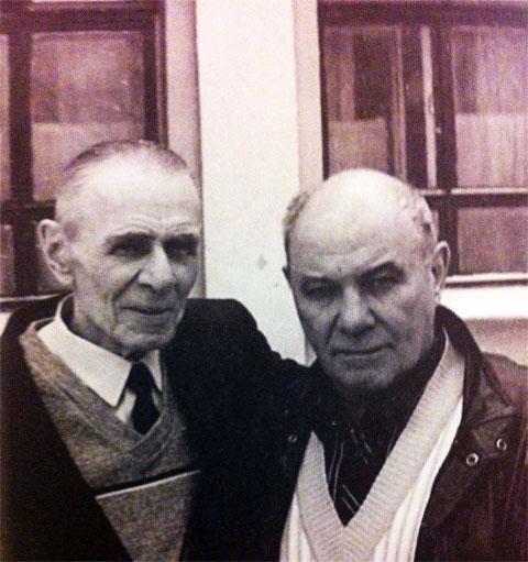 Слева: вор в законе  Александр Кочев (Вася Корж) и Вадим Туманов