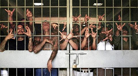 Участники банды Ла Эме в тюрьме