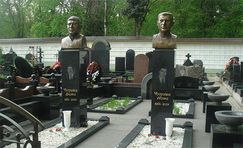Могила Нодара Фаризяна (Чаргоши)