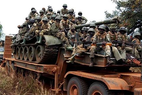 Военные Уганды
