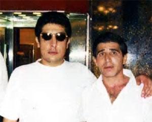Слева воры в законе: Андраник Согоян (Зап), Вардан Асатрян (Бдже)