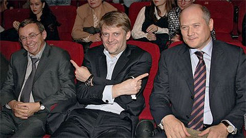 Слева: Евгений Ольховик и Александр Зарубин