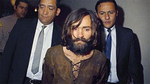 Чарльз Мэнсон во время задержания