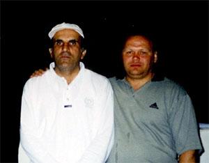 Слева воры в законе: Короглы Мамедов (Каро) и Салихдзчан Шамазов (Саша Шамаз)