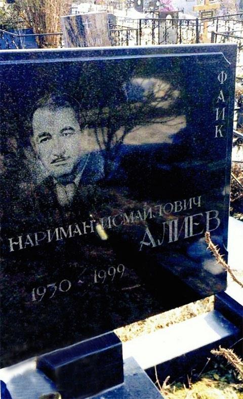 Могила вора в законе Наримана Алиева