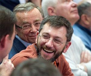 Борис Вайнзихер и Евгений Ольховик