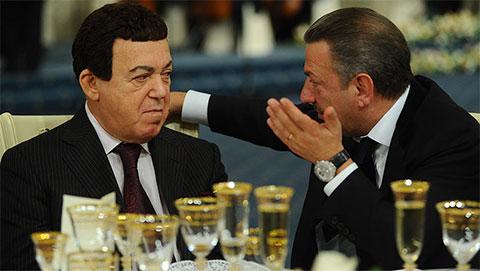 Слева: Иосиф Кобзон и Тельман Исмаилов