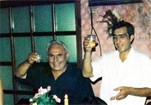 Слева воры в законе: Рантик Сафарян (Сынок) и Худо Гасоян (Худо Саратовский)