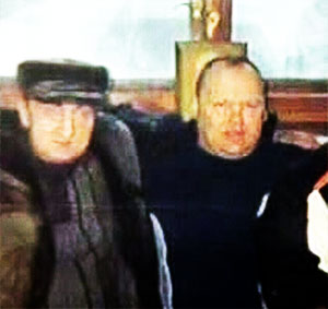 Слева воры в законе: Геннадий Романов (Ромашка) и Салихдзчан Шамазов (Саша Шамаз)