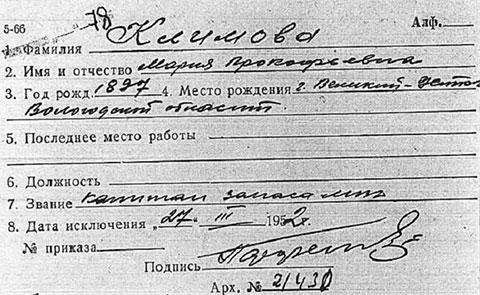 Маруся Климова - Мурка