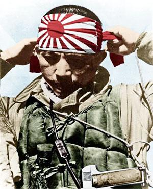 Японский пилот смертник - камикадзе