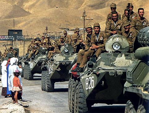 Война СССР в Афганистане