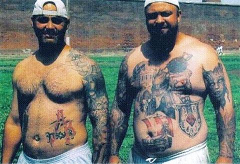 Члены банды Арийское Братство