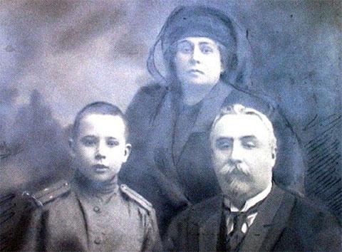 Семья Аркадия Кошко