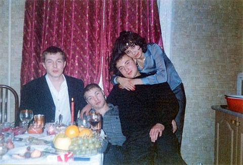 Справа: Владислав Телкин и Алексей Гуськов