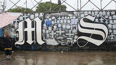 Граффити МС 13